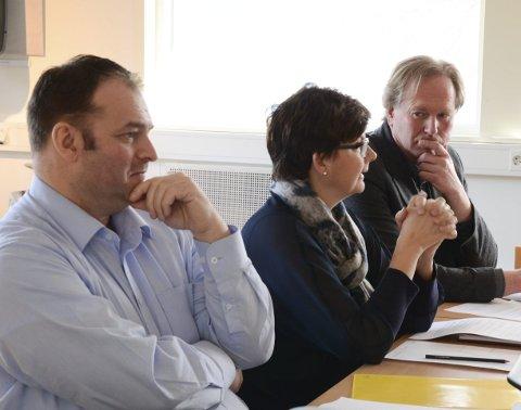 Felles mål: Aga Haug, Borge og Larsgard vil alle ha Hardanger tingrett på Lofthus. Arkivfoto: M. Bleken