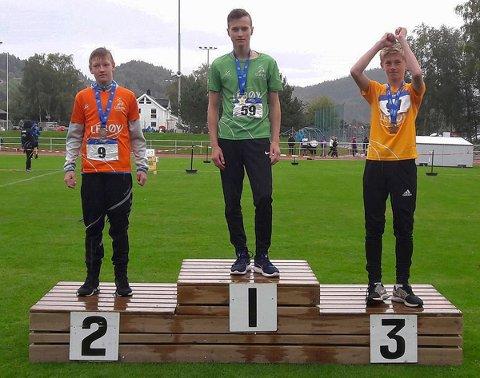 Kajus Zilinskas (13) tok to gull for SIL.