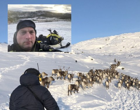 Sondre Kvandal ville kjøpe et samisk flagg i Mosjøen, men etter å ha kontaktet fem-seks butikker innså han at det ble vanskelig.