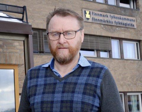 UHELDIG: Ulf Ballo hadde ønsket seg klarhet på nominasjonsmøtet om Stine Akselsens eventuelle flytteplaner. Han synes prosessen fikk et uheldig forløp, spesielt siden det var slik fokus på representasjonen til Øst-Finnmark.Foto: Alf Helge Jensen