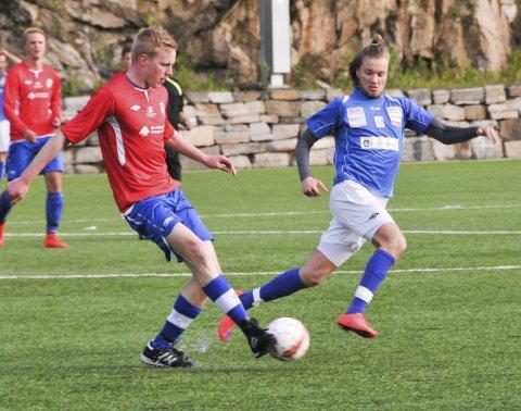 Scoret: Tommy Refsdal scoret da Drangedal vant hele 5-1 over Langesund.Arkivfoto: Per Eckholdt