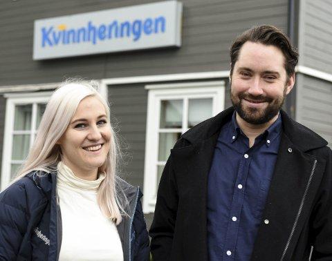 Redaktør Mona Grønningen trur Peder Sjo Slettebø vil gjera ein god jobb for Kvinnheringen.Foto: Jonn Karl Sætre