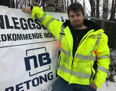 Tidlig eier: Christian Johan Grimsrud har eid firmaer siden han var 21 år gammel. Nå eier han 50 prosent i Lier-bedriften NB Betong.