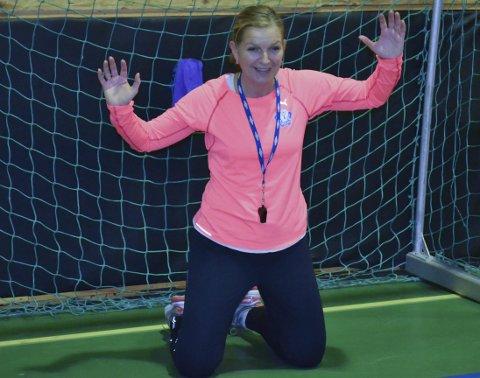 Håndballfrelst, men...: Fotballinteresse er det verre med. Liland stiller likevel sporty opp som tippegjest. Arkivfoto