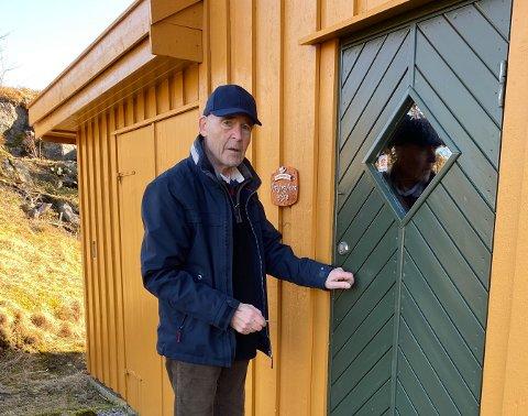 Hans Arctander på gården Auna på Ballstad.