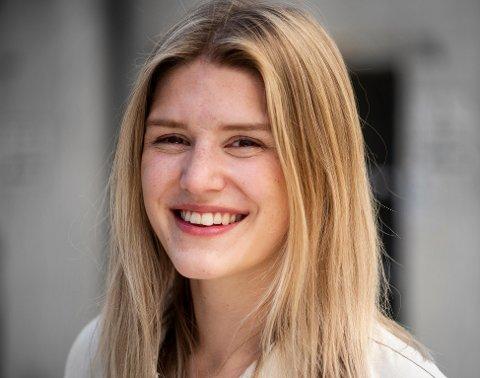SPENNENDE ÅR: Rebekka Steen (25) har vært ungdomssekretær i LO i et år. Selv om koronaåret ga nye utfordringer, har hun skaffet seg uvurderlige erfaringer.