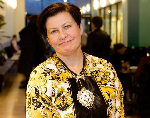 PRESIDENTKANDIDAT:Helga Pedersen fra Tana ble enstemmig valgt som Arbeiderpartiets presidentkandidat foran sametingsvalget.