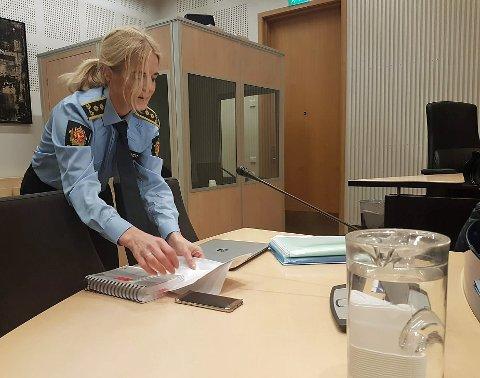 PÅTALEANSVARLIG: Politiadvokat Gøril Lund begjærte lukkede dører under fengslingsmøtet, og fikk rettens medhold.