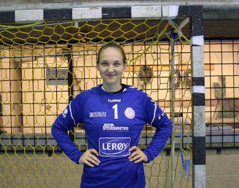 KEEPERKOMET: Amanda Vareikiene fra Litauen har signert for THK. Den litauiske målvakten har tidliger spilt 14 A-landskamper for Litauen og opptrått på den europiske håndballscenen ved flere anledninger.
