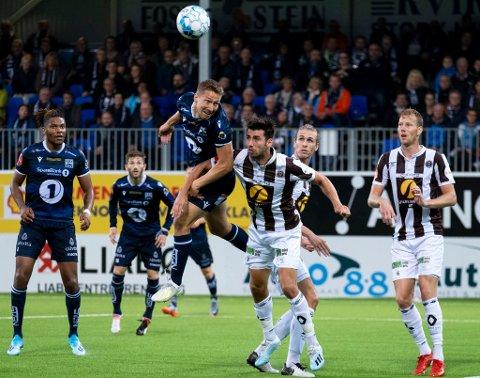 NY TIL-SPILLER: Erlend Sivertsen er hentet inn på lån fra Kristiansund for å styrke TIL på venstresiden ut sesongen.