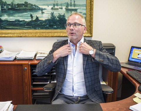 Meningsmålingsvinner: Bjarne Steen har hatt grep om ordførerrollen i to meningsmålinger.