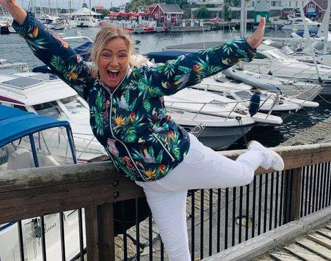 ENDELIG: Nå kan Inger Kristine Grønvold endelig ta imot all båtgjester som ønsker plass i Stavern gjestehavn