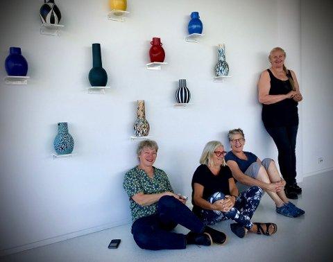 Fra venstre: Dorthe Herup, Brita Been, Fie von Krogh og Barbro Hernes. (Foto: Privat)