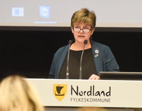 - Vi står sammen og vi er sterke i kampen for Helgelandssykehuset, sier ordfører Berit Hundåla i Vefsn kommune.