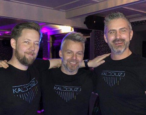 SELVLAGD ER VELLAGD: Magnus Langstrand, Terje Schistad-Stensvoll, Daniel Unstad i Kaldduzj lager låtene selv.