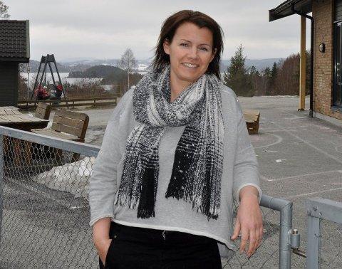 GRU-GLEDER SEG: Christina (45) både gleder og gruer seg til lørdagens konsert på Eger & Co.