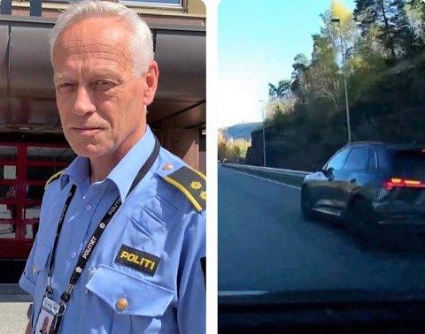 HAR SETT VIDEOEN: Etterforskningsleder Bent Øye, sier politiet har vurdert videoen av forbikjøringen.