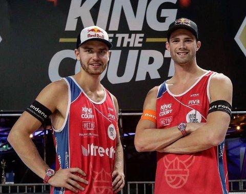 GULLFAVRITTER: Christian Sandlie Sørum og Anders Berntsen Mol er favoritter under OL, trent av rjukanfødte Kåre Mol.