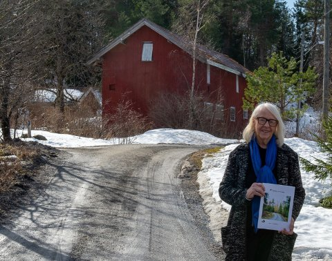 ØNSKE: - Vi ønsker å verne det unike kulturlandskapet i Kroken, sier Solveig Johanne Sundelius.