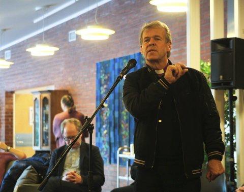 Kommer: Per Arne Dahl kommer til Sande kirke under Litteraturuken.