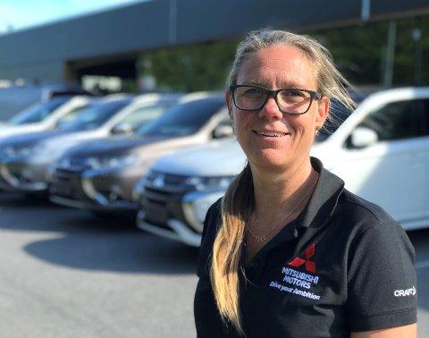 Daglig leder i Øyans Bil, Tone Marie Dale, er oppvokst med Mitsubishi. Hun kan ikke lenger tilby nylanseringer av bilmerket til sine kunder