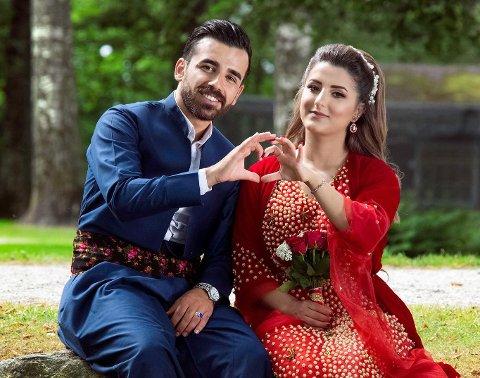 Keywan Ahmadi og Kashan Poya lengter etter å gjennomføre deres planlagte bryllup, som nå har blitt utsatt to ganger.