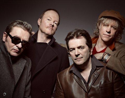 AUGUST: Bob Geldof og BoomTown Rats spiller på Kartfestivalen.