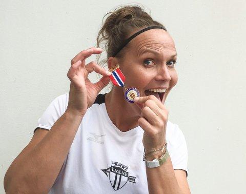 Grete Etholm håper å sikre seg den 18. gullmedaljen denne sesongen.