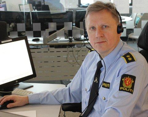 – Vi ønsker å komme i kontakt med bilføreren for å bringe klarhet i hvorfor han eller hun ikke stoppet, sier operasjonsleder Borge Amdam.