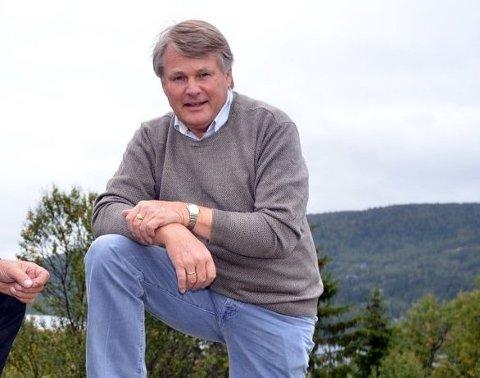 Bjørn Mathiesen i Vestre Slidre hytteforening ønsker seg fortsatt en helt annen plassering av masten.