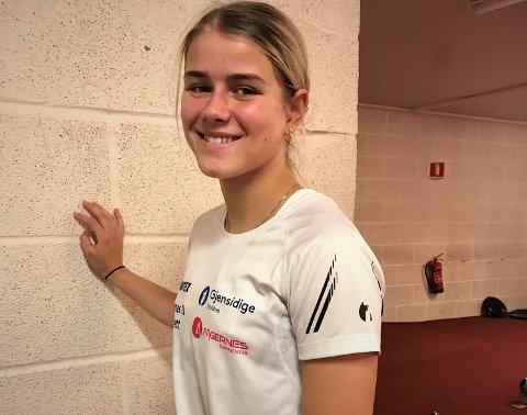 Deltok i senior-NM: Laura van der Veen kvalifiserte seg i år for senior-NM i Bergen da hun løp 100 meter på 12,65 i godkjent vind på sommerstevnet på Bislett.