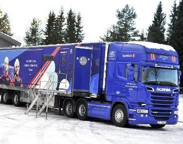 Smøretrailer: Skiforbundets skitrailer kommer på besøk lørdag, og det loves liv og røre på Seiersten.