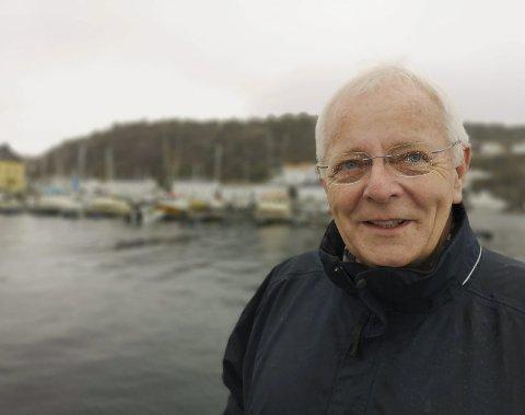 URHEIA I HJERTET: Ove Ramskjær er blant ildsjelene i det nystifta Urheia vel, som nå håper at folk vil være med å ta et tak for å rydde opp i det usedvanlig populære tur-  og rekreasjonsområdet.Foto: HPB