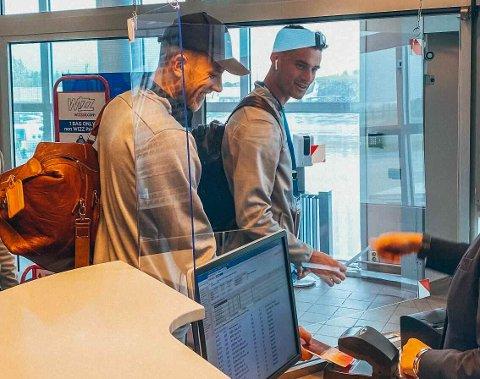 Vegard Leikvoll Moberg og Joshua Smits er to av spillerne som reiser med Glimt til Island.