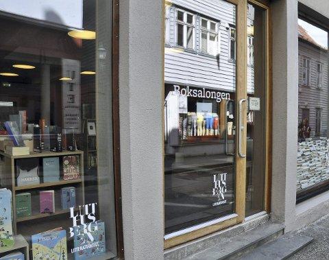 Boksalongen på Litteraturhuset åpnet i 2014.