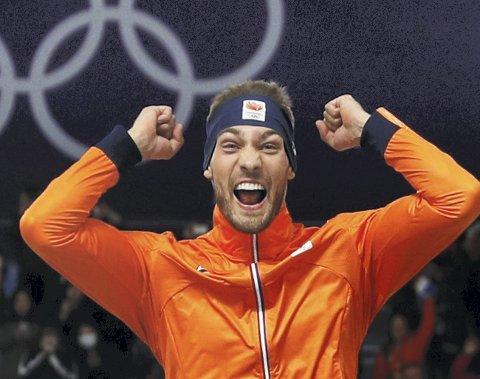 Hele Nederland forventer at Kjeld Nuis skal rette opp den skuffene bronsemedaljen fra  lagtempoen i OL med et gull på 1000-meteren. (Foto: NTB scanpix)