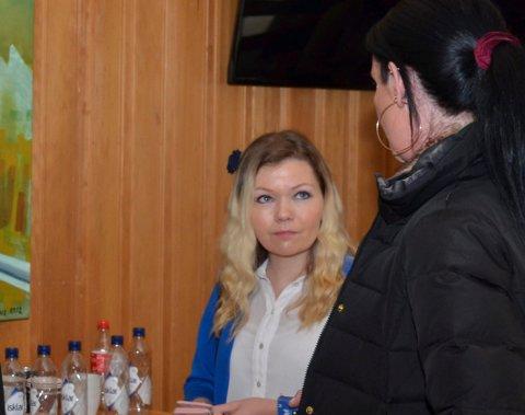 Marianne Solheim, her fotografert i Odda kommunestyre i mars.