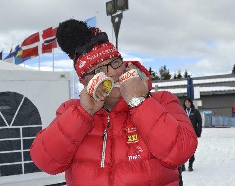 Bet godt fra seg: Magnar Dalens Team Santander bet godt fra seg i årets birkebeinerrenn. Nå ser nordodølingen fram imot noen snøfrie måneder. Foto: Pål-Erik Berntsen
