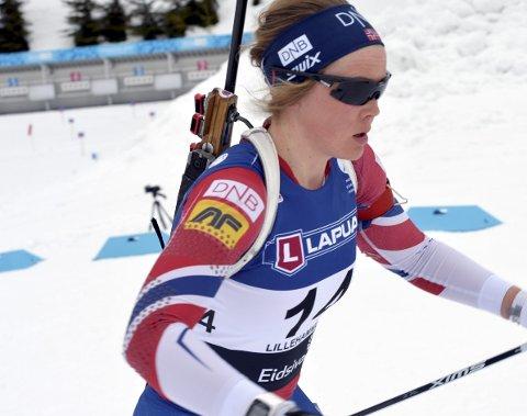 Karoline Knotten endte på 28. plass i lørdagens jaktstart.
