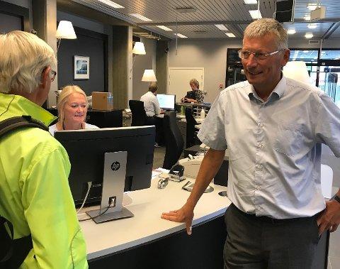 ØKER RENTA: SpareBank 1 Ringerike Hadeland øker renta. – Kundene er godt rustet til økningen, mener banksjef Steinar Haugli.