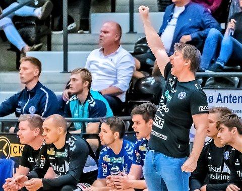 BYTTER KLUBB: Jonas Wille (44) skal fullføre sesongen med Mors/Thy, men fra 1. juli er han ansatt som ny hovedtrener i den svenske toppklubben IFK Kristianstad.