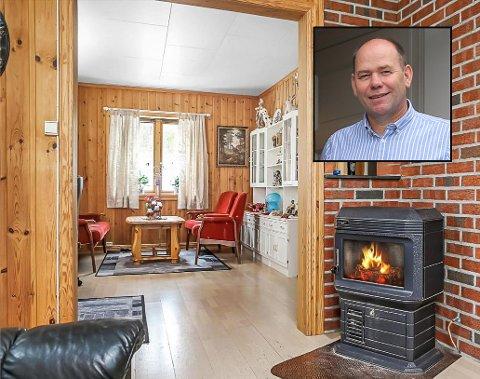 I 2016 kjøpte Tone Eilertsen og Paal Jensen den tidligere gården Lie Østre. Nå har de pusset opp det gamle våningshuset fra topp til bunn og bygd ny garasje, og eiendommen er klar for salg. Før-bildene viser at Eilertsen og Jensen har gjort en formidabel innsats.