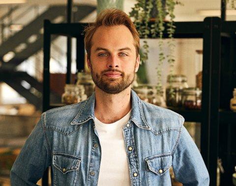PÅ PLASS I HALDEN: Kristian Hald er daglig leder i HelloFresh.