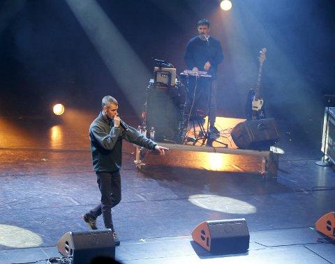 STATLIG FINANSIERING: Lars Vaular ble en storsatsing i anledning Kulturnatt 20 år. Mulig med statlige kulturpenger.   FOTO: ALFRED AASE