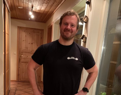 TOK SELV AFFÆRE: Anders Lysø Kleven la opp ei felle for den frekke tyven på Karmøy.