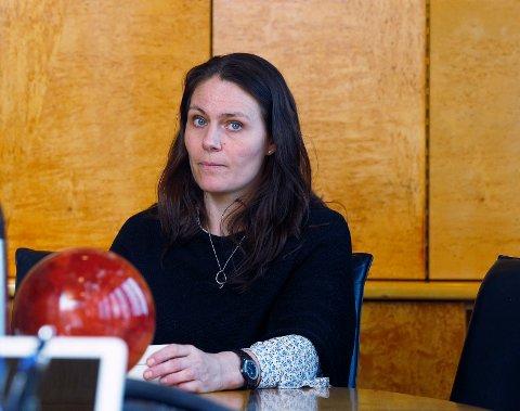 MER ARBEID: Viseadministrerende direktør i Knutsen OAS rederi Synnøve Seglem har fått mer arbeid til rederiet.   Foto:  Harald Nordbakken
