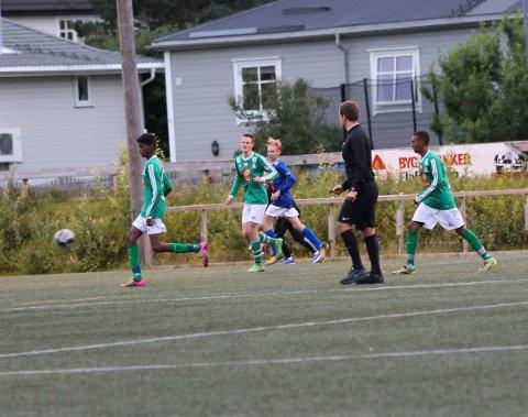 Olderskog mot Mosjøen G15 på Olderskog stadion 3-2. Olderskog ligger godt an til å vinne serien, men har avgitt poeng mot andrelagene til MIL. Martinus på banen