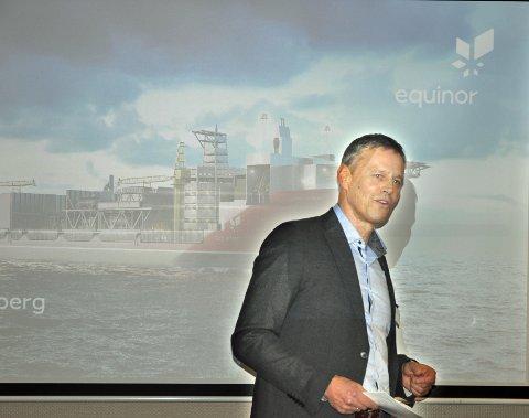 JULENYHET: Spørsmålet om ilandføring av oljen fra Johan Castberg-skipet (bildet) til Veidnes i Nordkapp avgjøres før jul. Prosjektdirektør Knut Gjertsen har lagt fram en den best mulige løsningen. Men er den god nok?