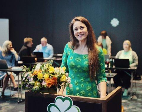 HENTES TIL TOPPJOBB: Trine Fagervik (Sp) fra Leirfjord blir statssekretær i barne- og familiedepartementet.