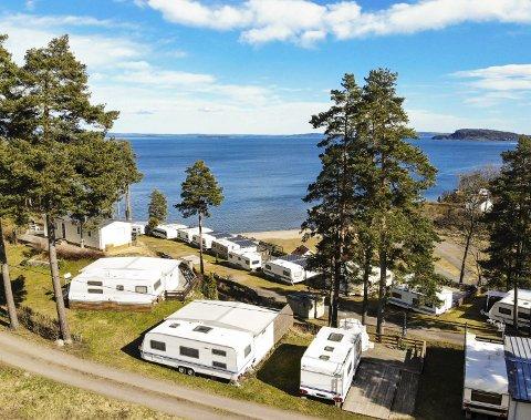 Forbudt: Det er ikke lov til å bruke campingplassene til overnatting. Kun dagsbesøk.foto: Ulrikke G. Narvesen